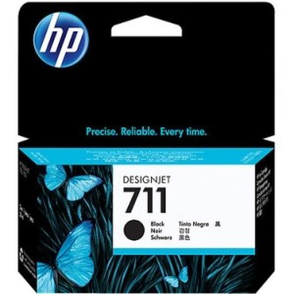 HP  711 Black Ink Cartridge 38-ml CZ129A