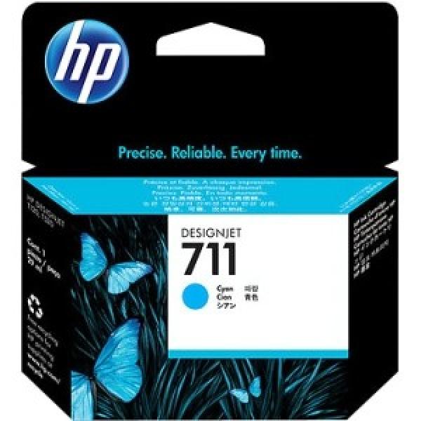 HP  711 Cyan Ink Cartridge 29-ml For Designjet CZ130A