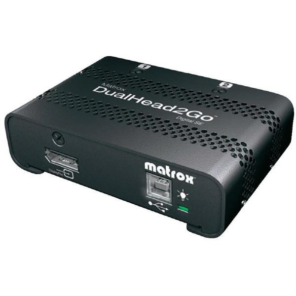 MATROX Dualhead2go Digital D2G-DP2D-IF