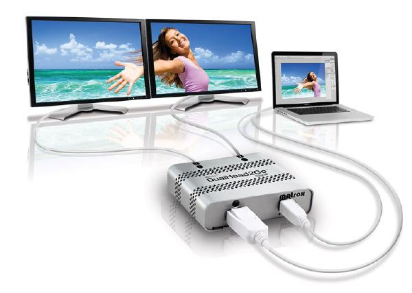 MATROX Dualhead2go Digital D2G-DP2D-MIF