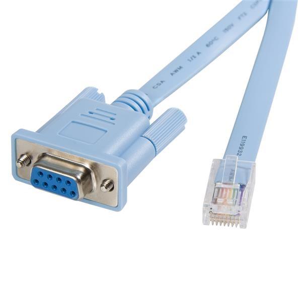STARTECH 6 Ft Rj45 To Db9 Cisco Console DB9CONCABL6