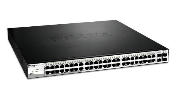 D-LINK 52-port Gigabit Websmart Poe Switch With DGS-1210-52MP