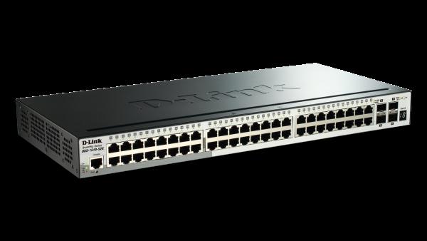 D-LINK 52-port Gigabit Smartpro Switch With 48 DGS-1510-52X