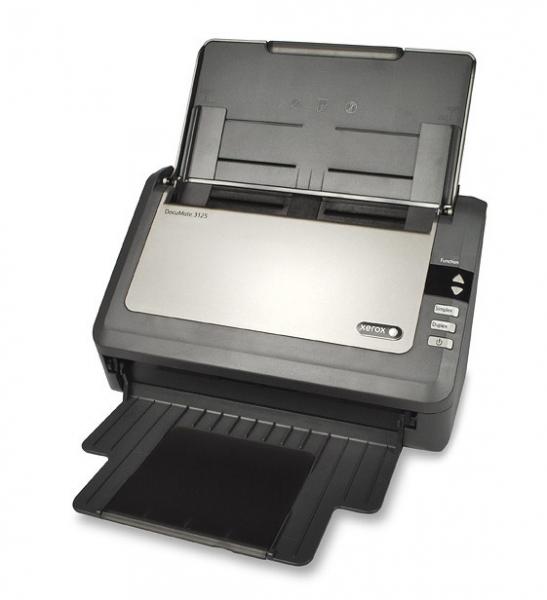 Fuji Xerox Dm3125 Scanner A4 Adf 25ppm Dup Adf 50 Shts 600dpi Usb2 3k P ( Dm3125@-a )