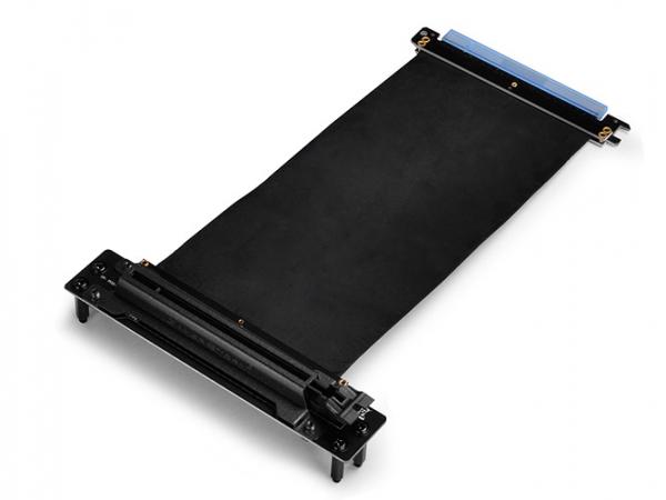 Deepcool  Pec 300 Pci-e X16 Black Extender Ribbon Riser Cable ( Dp-ec-pec300 )