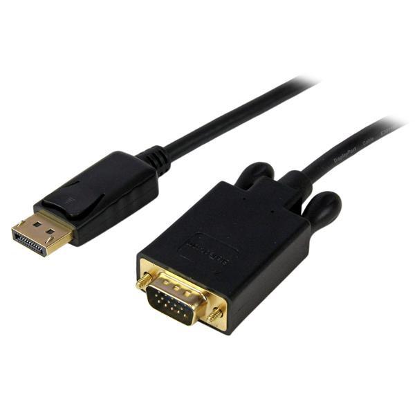 STARTECH 6 Ft Displayport To Vga Adapter DP2VGAMM6B
