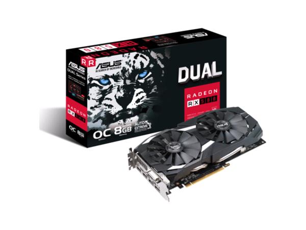 ASUS  Vga Ati Radeon ( Dual-rx580-o8g DUAL-RX580-O8G