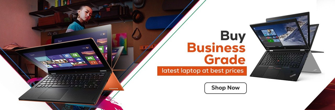 HP Lenovo business grade laptop onlone at best prices